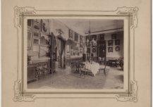 Raadi mõisa kabinet enne viimaseid ümberehitusi 1901.–1905. a.