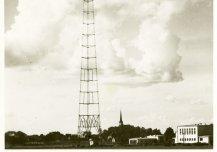 Tollane põhjamaade kõrgeim ehitis Türi saatemast ja selle jaamahooned (arhitekt Alar Kotli) 1937.