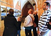 Seminaril osalejad Kuressaare lossis. Foto Krista Karro.