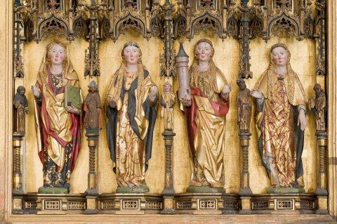 Tallinna Niguliste kiriku peaaltari retaabel ehk Rode altar (detail). Foto: Stanislav Stepaško.