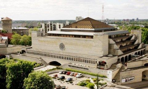 Eesti Rahvusraamatukogu on esimene iseseisvuse taastamise ajal valminud hoone, mis mälestiseks tunnistati. Allikas: Eesti Rahvusraamatukogu arhiiv
