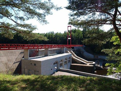 Linnamäe hüdroelektrijaam. Foto: Ivo Kruusamägi, Wikipedia, CC BY-SA 3.0