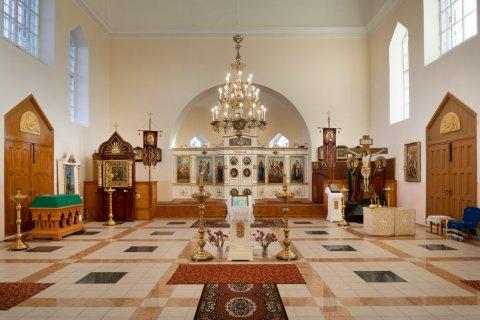 Jaamaküla kiriku interjöör on osa Alutaguse kultuuripärandist. Foto: Toomas Tuul