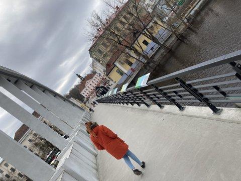 Uue kaitsekorra näitus Tartu Kaarsillal. Foto Muinsuskaitseamet