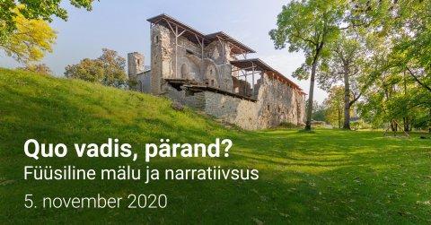 Fotol tänavu kategoorias Hästi restaureeritud mälestis Muinsuskaitseameti aastapreemia võitnud Padise klooster. Foto Elvo Jakobson