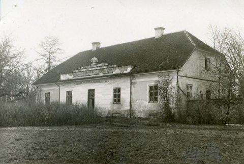 Foto 1932-33. Kuusiku mõisa valitsejamaja, EPM FP 749:27, Eesti Maaelumuuseumid SA