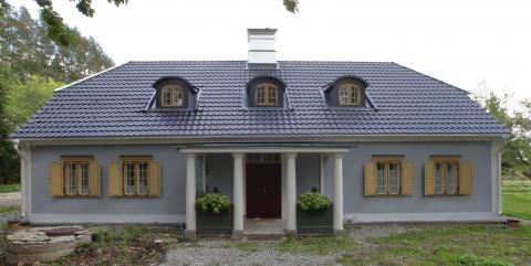 Vana-Pääla mõisahoone, hästi taasatud ehitus.Foto: Reio Avaste