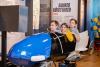 Lustivad lapsed Eesti Spordi- ja Olümpiamuuseumi püsinäitusel